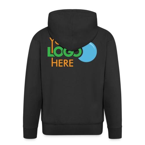 Your Logo Here - Men's Premium Hooded Jacket