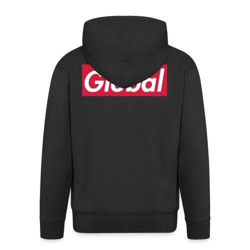 Global - Männer Premium Kapuzenjacke