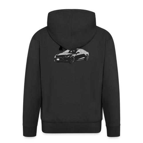 Tesla Model S - Mannenjack Premium met capuchon