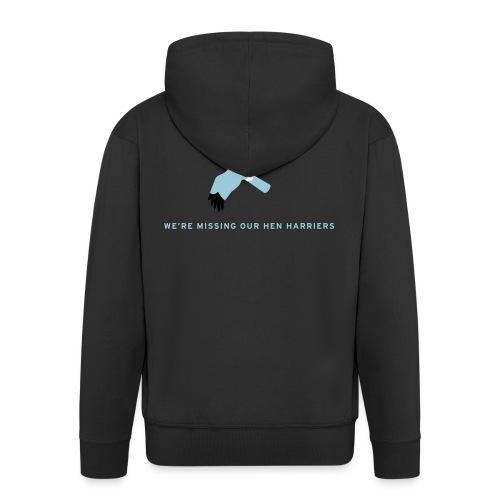 BAWC Hen Harrier Day Men's T-Shirt - Men's Premium Hooded Jacket