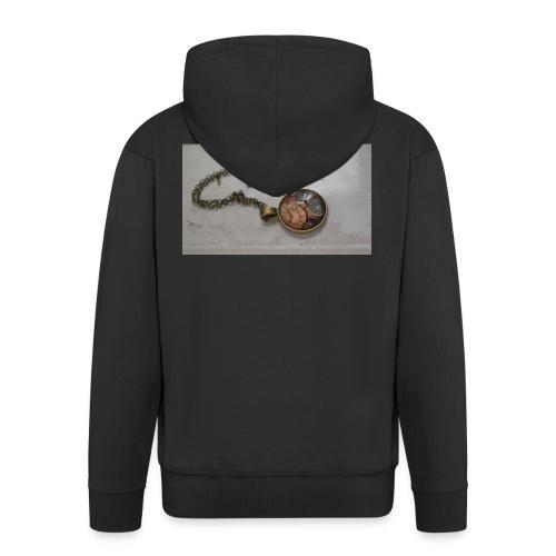 steampunk_collar - Chaqueta con capucha premium hombre