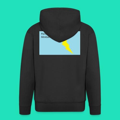 Piorunowe Na Telefon 5s - Rozpinana bluza męska z kapturem Premium