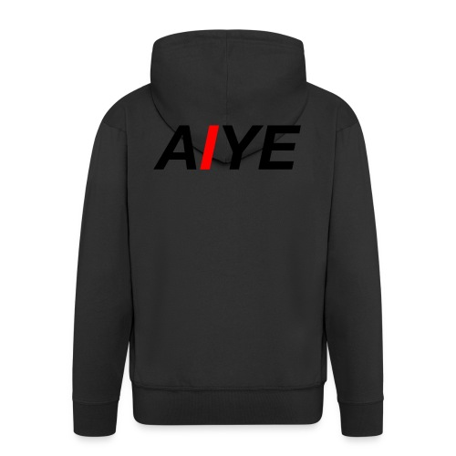AIYE Basic Logo - Mannenjack Premium met capuchon