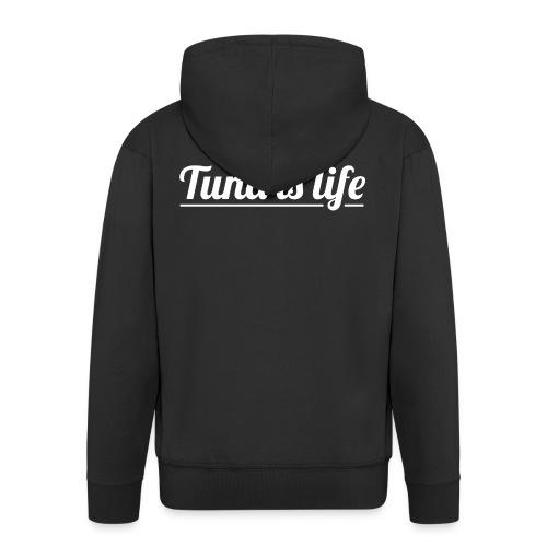 Tuna is Life Hoodie - Black - Herre premium hættejakke