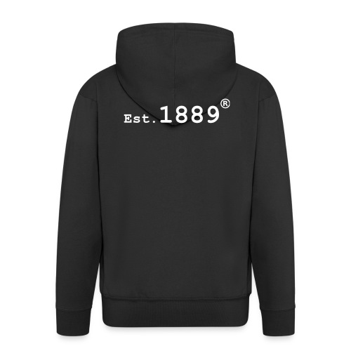 Established 1889 (Large Logo) - Men's Premium Hooded Jacket
