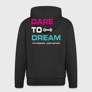 DARE TO DREAM - Chaqueta con capucha premium hombre