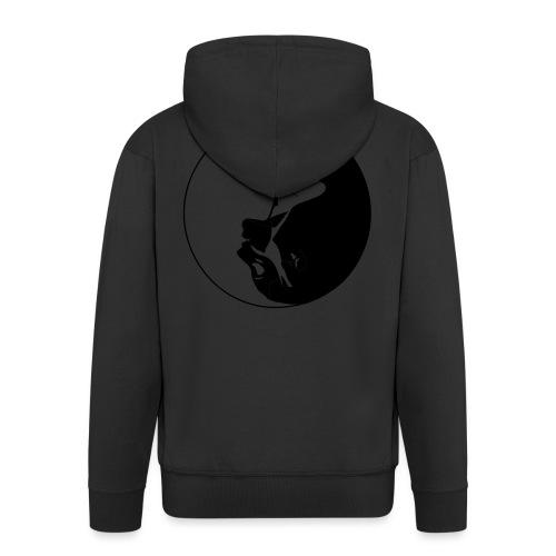 Yang Ying - Rozpinana bluza męska z kapturem Premium