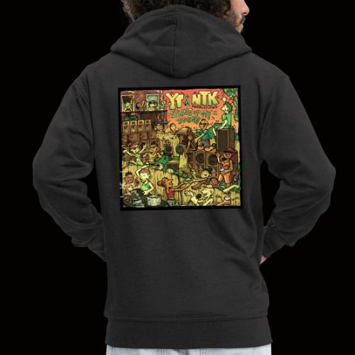 String Up My Sound Artwork - Men's Premium Hooded Jacket