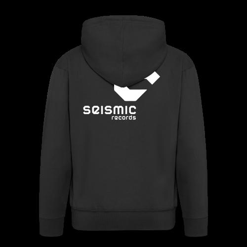 Seismic Records - Men's Premium Hooded Jacket
