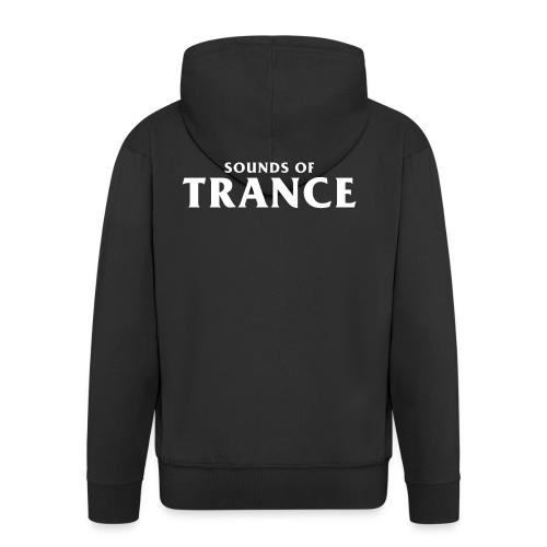 Sound Of Trance - Men's Premium Hooded Jacket
