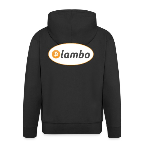 Lambo - option 1 - Men's Premium Hooded Jacket