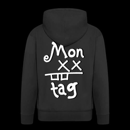Montag x_x - Männer Premium Kapuzenjacke