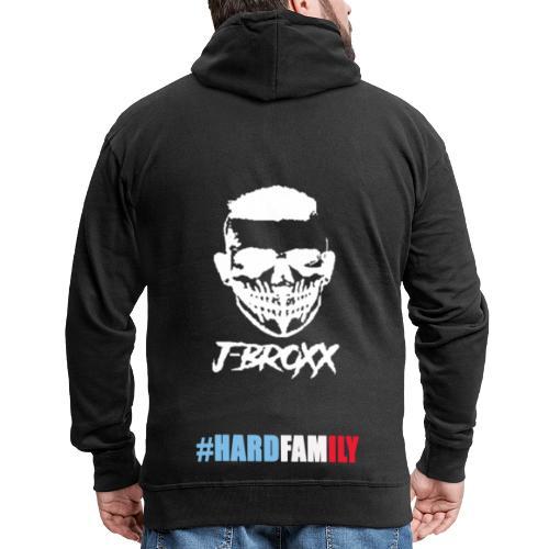 hardfamily j broxx - Veste à capuche Premium Homme