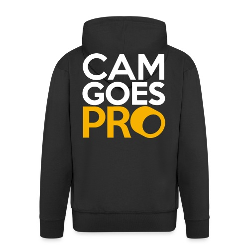 CamGoesPro Gold Shirt - Männer Premium Kapuzenjacke
