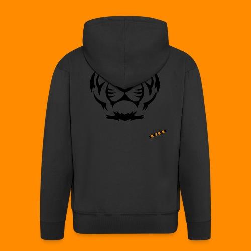TheTigers Original T-Shirt - Felpa con zip Premium da uomo