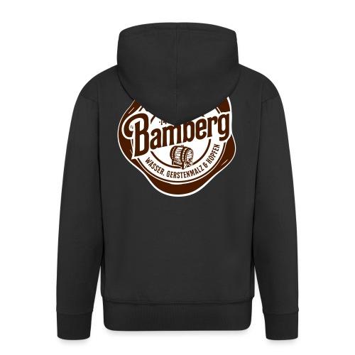 Bierkulturstadt Bamberg - Männer Premium Kapuzenjacke