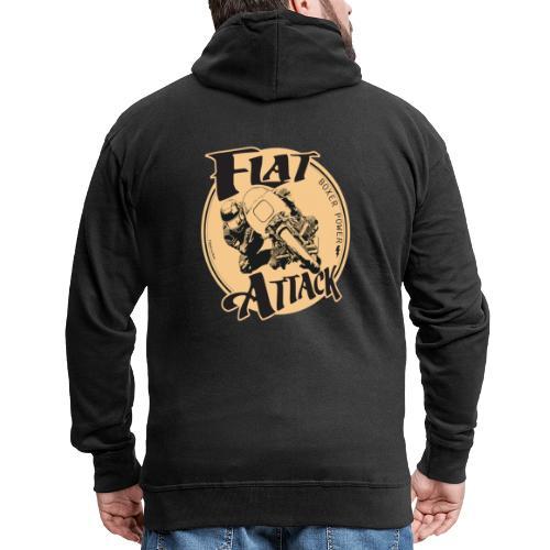 N 179 FLAT ATTACK 2 - Veste à capuche Premium Homme