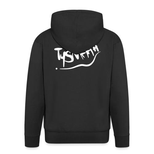 Logo blanc - TYSMAAH - Veste à capuche Premium Homme