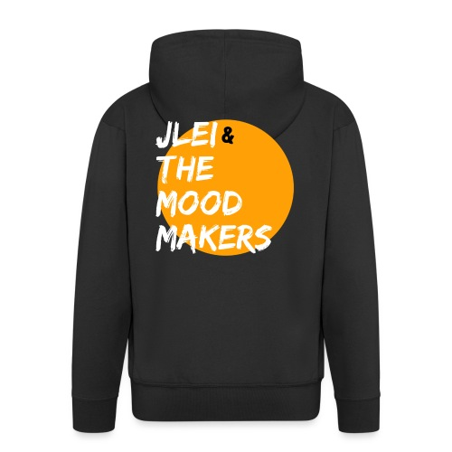 Jlei & The Mood Makers Bandlogo - Männer Premium Kapuzenjacke