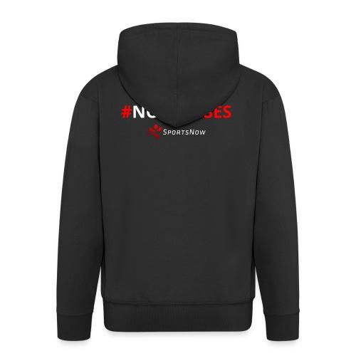 #NoExcuses - Männer Premium Kapuzenjacke
