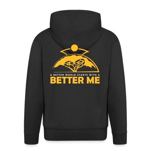 Better Me - Men's Premium Hooded Jacket
