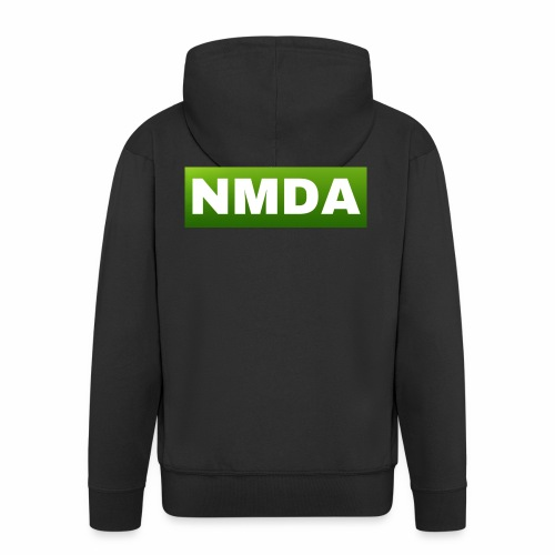 Green NMDA - Men's Premium Hooded Jacket