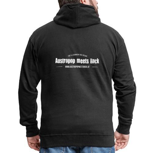 AMR Logo vintage back - Männer Premium Kapuzenjacke