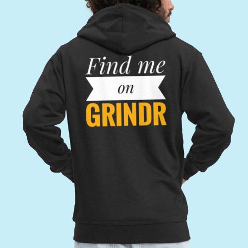 Trouve moi sur Grindr - Veste à capuche Premium Homme