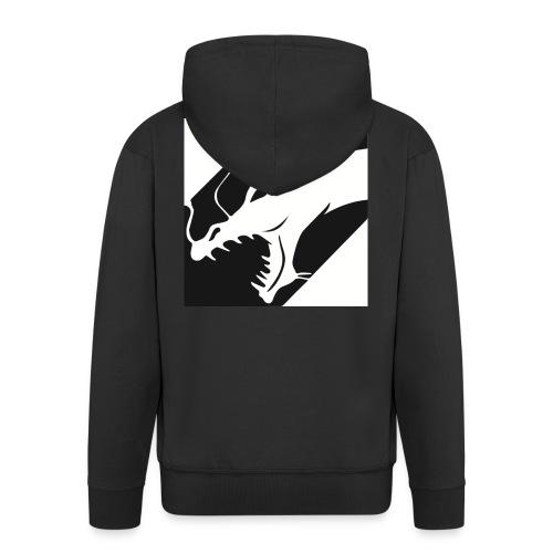 Dragon Black - Mannenjack Premium met capuchon