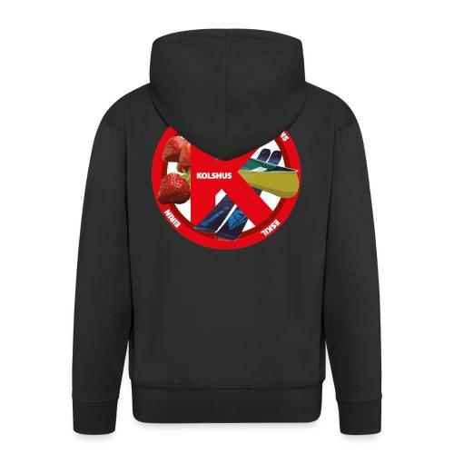 logoforeskil - Men's Premium Hooded Jacket
