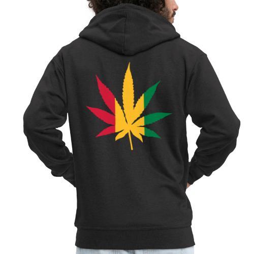 Cannabis Rastafari - Männer Premium Kapuzenjacke