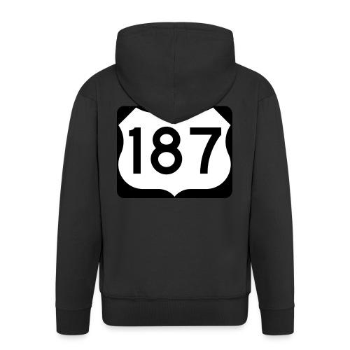 187 - Männer Premium Kapuzenjacke