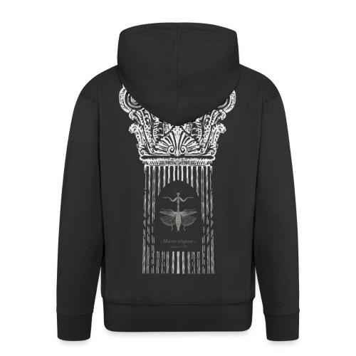 Ode à la mante religieuse - Veste à capuche Premium Homme