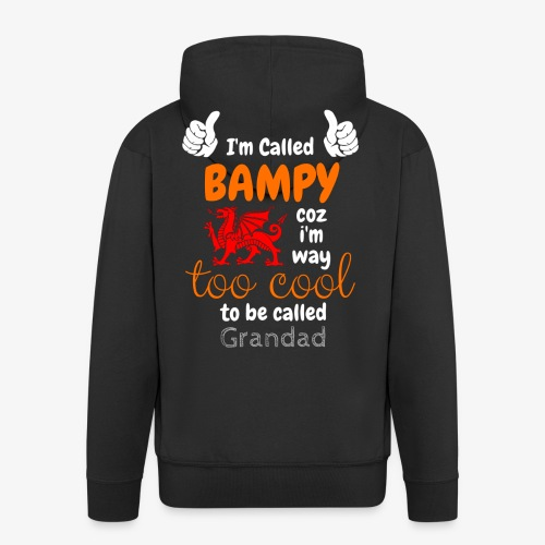 I'm Called BAMPY - Cool Range - Men's Premium Hooded Jacket