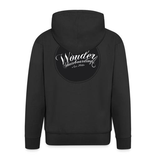 Wonder T-shirt - oldschool logo - Herre premium hættejakke