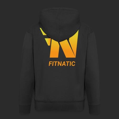 Fitnatic - Männer Premium Kapuzenjacke