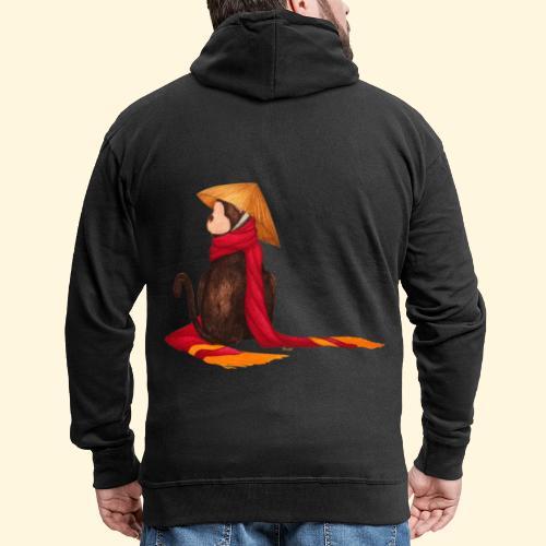 Un singe en hiver - Veste à capuche Premium Homme