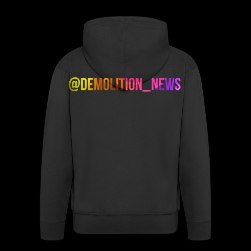@demolition_news - Men's Premium Hooded Jacket