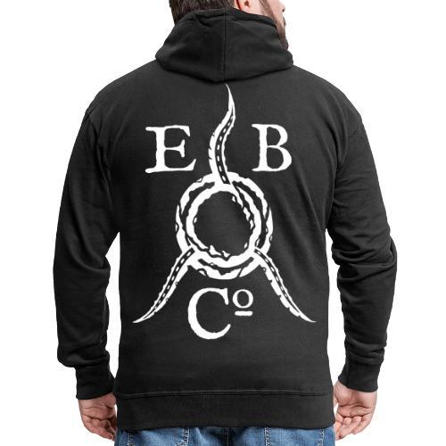 Eldritch Brothers Co. Logo - Miesten premium vetoketjullinen huppari