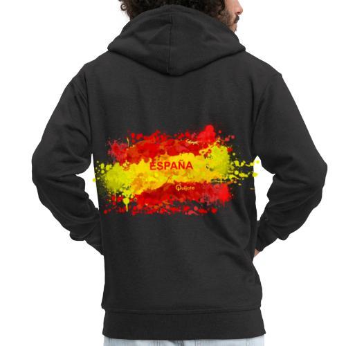España - Chaqueta con capucha premium hombre