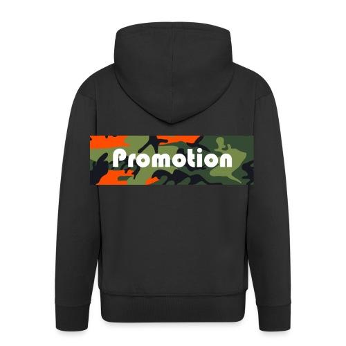 Promotion Box Logo - Männer Premium Kapuzenjacke