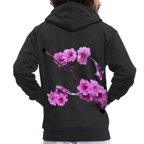 Flower Back - Premium-Luvjacka herr