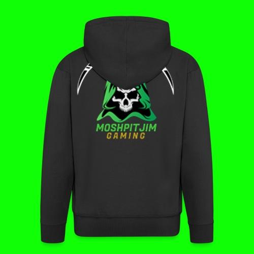 MoshpitJim Logo - Männer Premium Kapuzenjacke