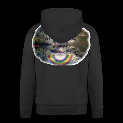 Regenbogen Schule - Männer Premium Kapuzenjacke