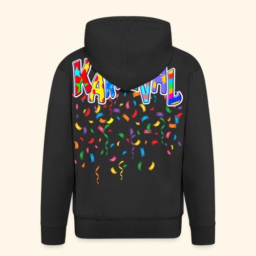 Karneval & Fasching Spaß Alt und Jung Party Shirt - Männer Premium Kapuzenjacke