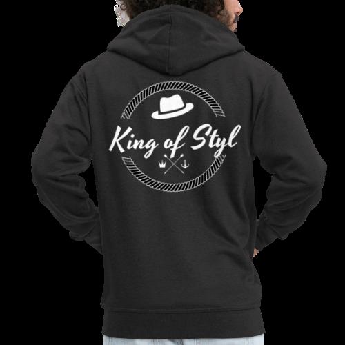 KING - Männer Premium Kapuzenjacke