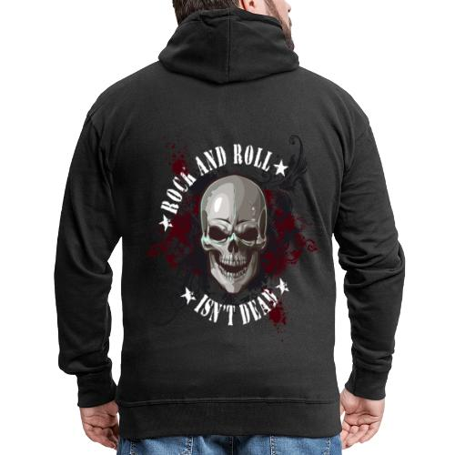 Rock and Roll isn´t dead - Chaqueta con capucha premium hombre