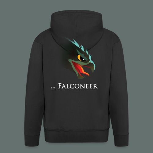 Falconeer FalconHead - Mannenjack Premium met capuchon