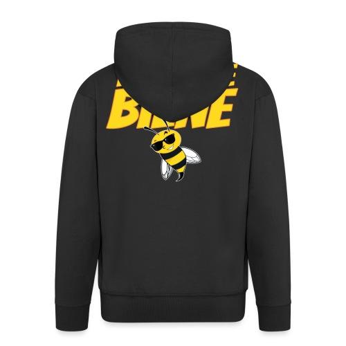Ich Bin Eine Biene lustige Imker und Bienenfreund - Männer Premium Kapuzenjacke