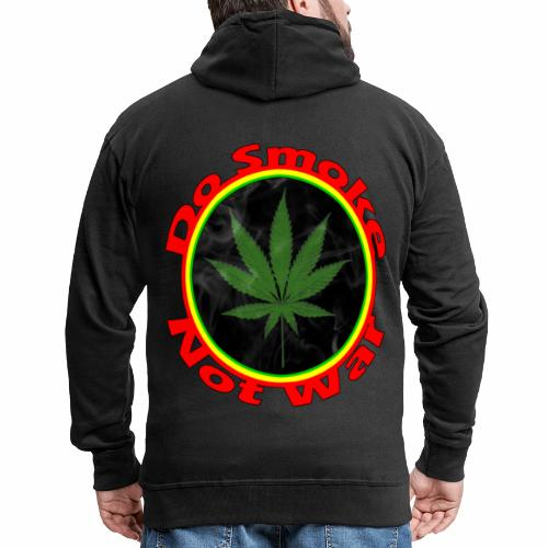 Do Smoke Not War - Männer Premium Kapuzenjacke